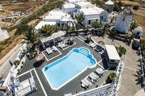 Vacances Santorin: Hôtel Milos Villas