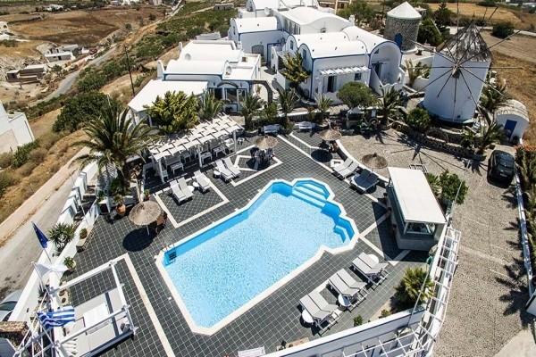 h tel milos villas santorin grece partir pas cher. Black Bedroom Furniture Sets. Home Design Ideas