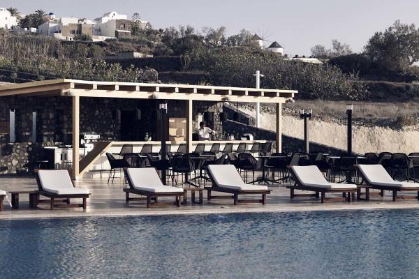 Piscine - Hôtel Santo Maris Oia Luxury Suites & Spa 5* Santorin Grece