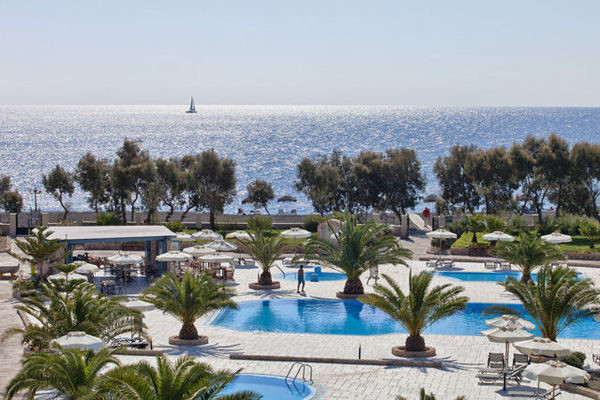 Piscine - Hôtel Santo Miramare Resort 4* Santorin Grece