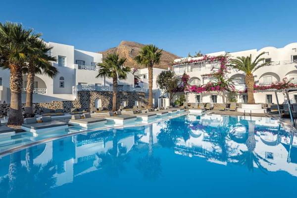 Piscine - Santorini Kastelli Resort
