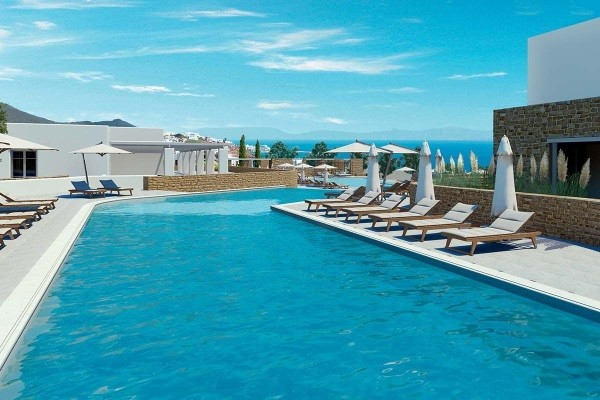 Piscine - Hôtel Summer Senses Luxury Resort 5* Santorin Grece