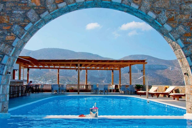 Piscine - Hôtel Vigla 3* Santorin Grece