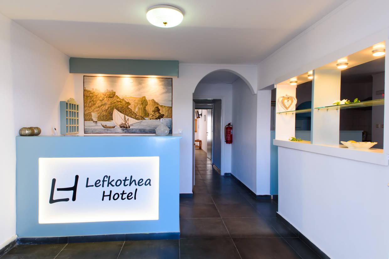 Reception - Hôtel Lefkothea Hôtel 2* Santorin Grece
