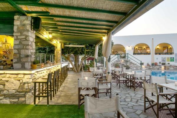 Restaurant - Hôtel Asteras Paradise 4* Santorin Grece