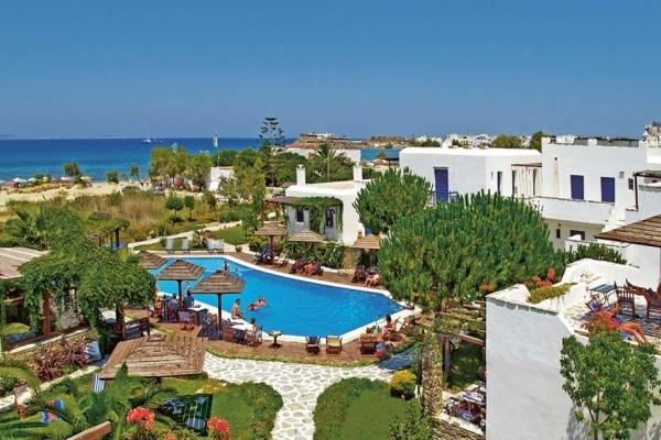 Vue panoramique - Hôtel Alkyoni Beach 3* sup Santorin Grece