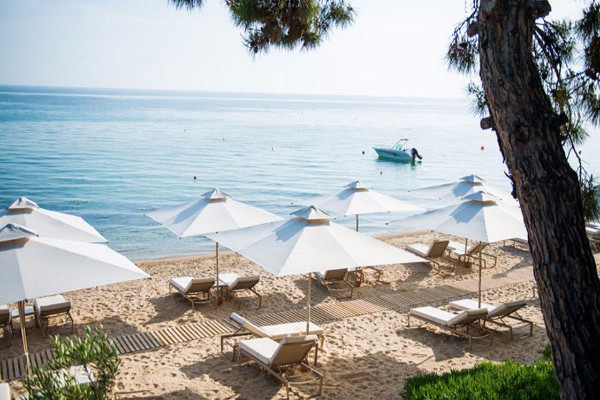 Plage - Hôtel Ikos Oceania 5* Thessalonique Grece