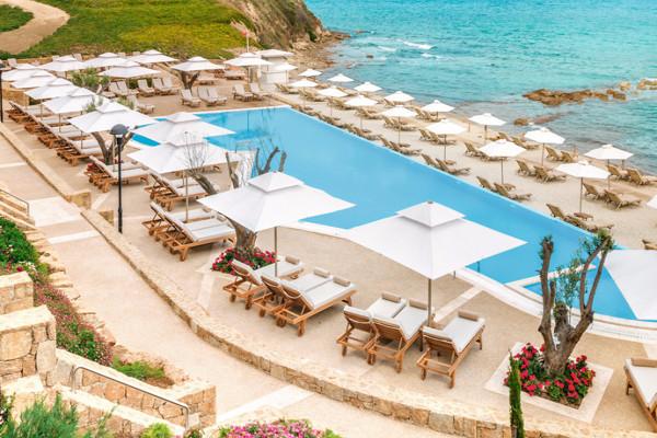 Vue panoramique - Hôtel Sani Beach 5* Thessalonique Grece