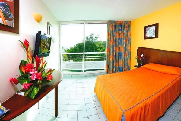Chambre - Combiné hôtels 2 îles - Guadeloupe et Martinique : Karibea Clipper et Karibea Amandiers 3* Pointe A Pitre Guadeloupe