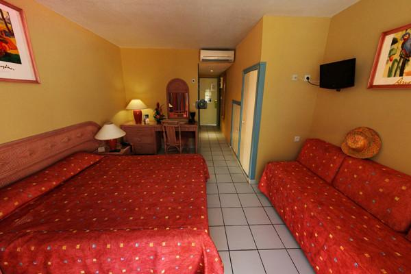 Chambre - Hôtel Canella Beach 3* Pointe A Pitre Guadeloupe