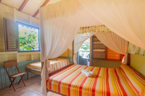 Chambre - Résidence locative Habitation Capado Pointe A Pitre Guadeloupe