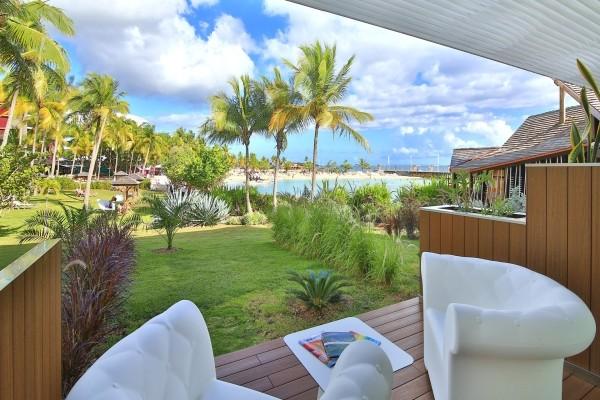 Chambre vue mer terrasse - La Créole Beach Hôtel & Spa