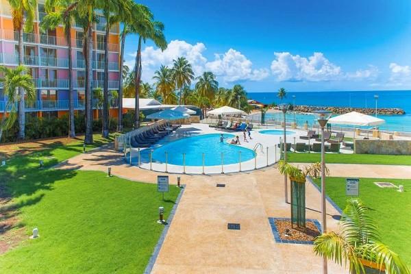 Piscine - Combiné hôtels 2 îles - Guadeloupe et Martinique : Karibea Clipper et Karibea Amandiers 3* Pointe A Pitre Guadeloupe