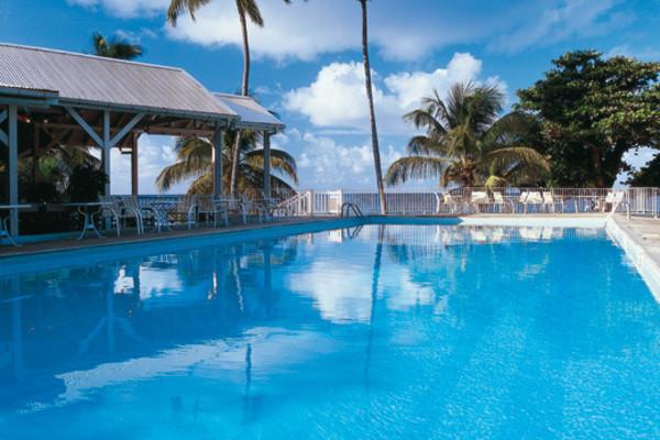 Piscine - Hôtel Auberge De La Vieille Tour 4* Pointe A Pitre Guadeloupe