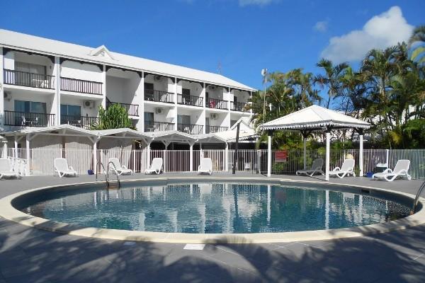 Piscine - Hôtel Bwa Chik 3* Pointe A Pitre Guadeloupe