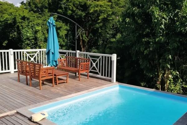 Piscine - Hôtel Case Coco Pointe A Pitre Guadeloupe