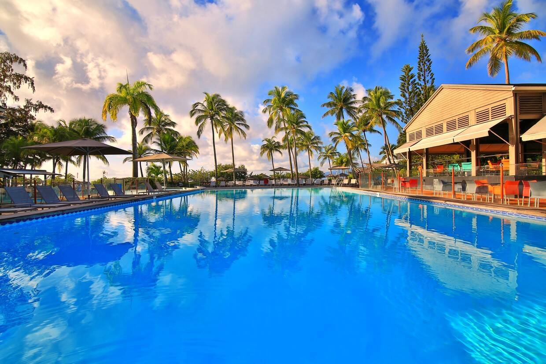 Piscine - La Creole Beach Hotel & Spa 4* Pointe A Pitre Guadeloupe