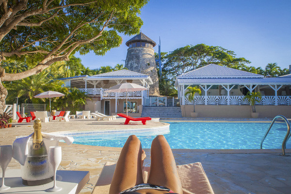 Piscine - Hôtel Le Relais du Moulin 4* Pointe A Pitre Guadeloupe