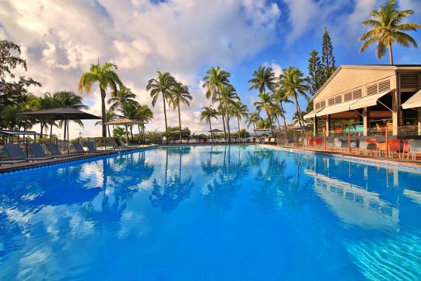 Piscine - Hôtel Mahogany Hôtel Résidence & Spa 4* Pointe A Pitre Guadeloupe