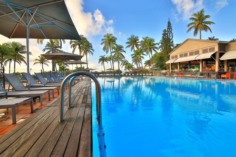 Piscine - Hôtel Mahogany Résidence & Spa 4* Pointe A Pitre Guadeloupe