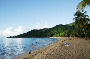 Vacances Deshaies: Hôtel Habitation Grande Anse