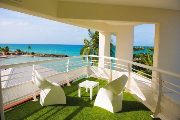 Terrasse - Hôtel Hôtel Karibea Le Clipper Pointe A Pitre Guadeloupe