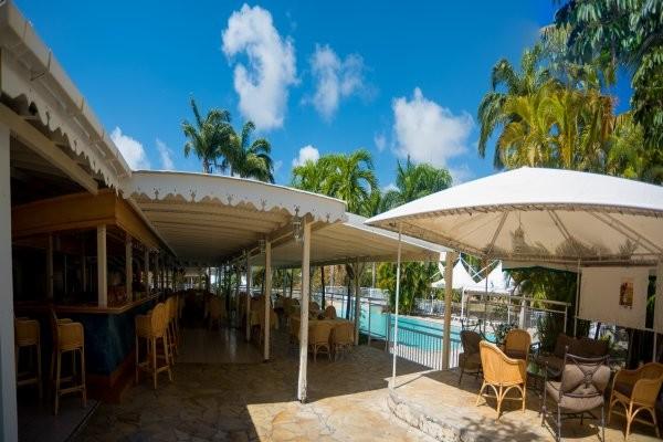 Terrasse - Hôtel Résidence Golf Village 3* Pointe A Pitre Guadeloupe
