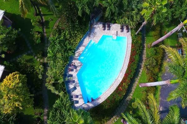 Vue panoramique - Hôtel Ti Sucrier Pointe A Pitre Guadeloupe