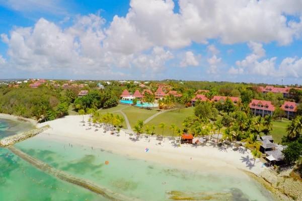 Vue panoramique - Hôtel Village Pierre et Vacances Sainte Anne Pointe A Pitre Guadeloupe