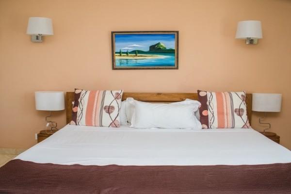 Chambre - Hôtel Apart Hotel Tamarin et Location de voiture 4* Mahebourg Ile Maurice