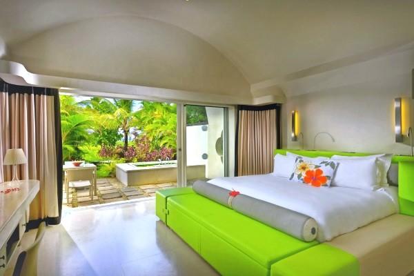 Chambre - Hôtel SO Sofitel Mauritius 5* Mahebourg Ile Maurice