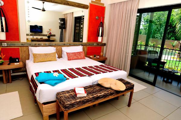 Chambre - Hôtel Tamarina Beach Golf & Spa 4* Mahebourg Ile Maurice