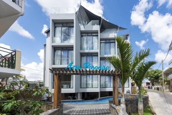 Facade - Hôtel Azur Paradise 3* Mahebourg Ile Maurice