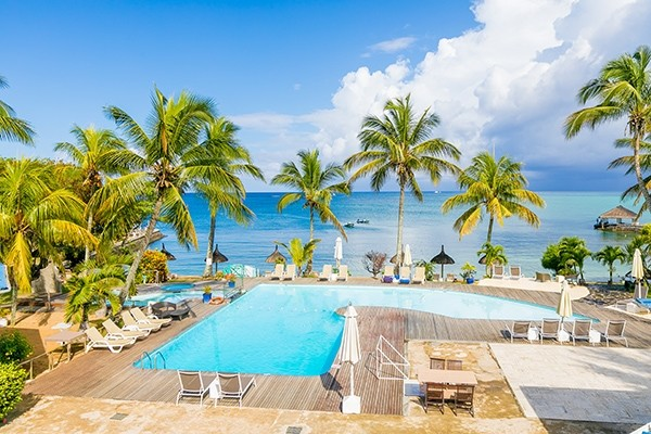 Piscine - Coral Azur Beach Resort 3* Mahebourg Ile Maurice