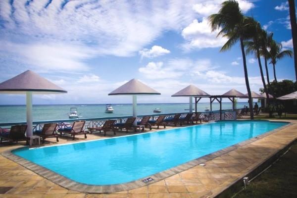 Piscine - Hôtel Gold Beach Resort & Spa 3* Mahebourg Ile Maurice