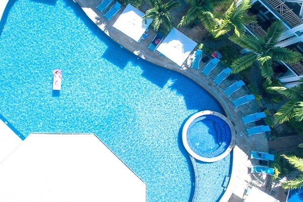Piscine - Pearle Beach Resort & Spa Mauritius 4* Mahebourg Ile Maurice