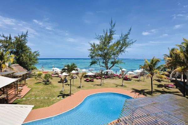 Piscine - Hôtel Silver Beach Hotel Mauritius 3* Mahebourg Ile Maurice