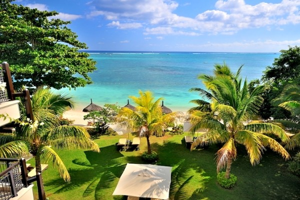 Vue sur la plage - Le Cardinal Exclusive Resort