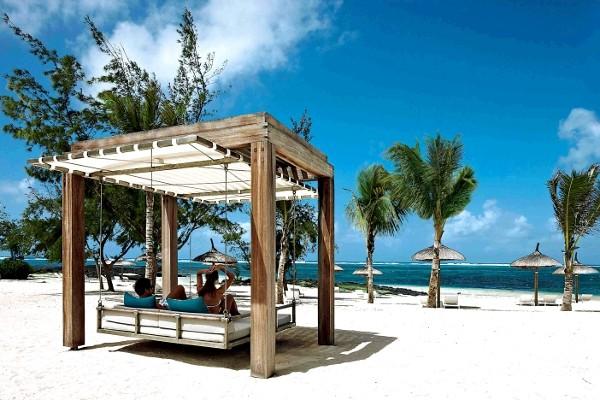 Plage - Hôtel Long Beach Mauritius Resort 5* sup Mahebourg Ile Maurice