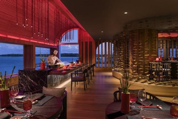 Restaurant - Hôtel Shangri-La Le Touessrok Mauritius 5* Mahebourg Ile Maurice