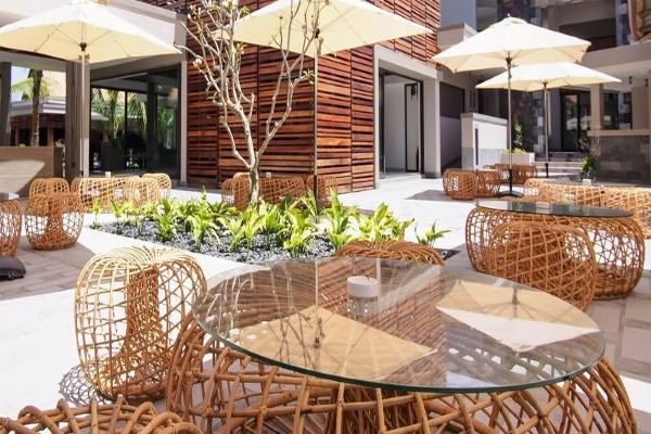 Terrasse - Hôtel Maritim Crystals Beach 4* sup Mahebourg Ile Maurice