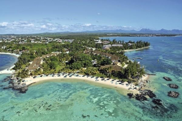 Vue panoramique - Hôtel Canonnier Beachcomber Golf Resort & Spa 4* Mahebourg Ile Maurice