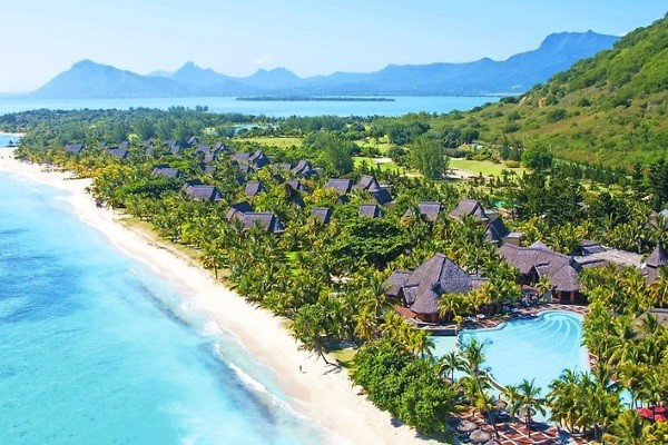 Vue panoramique - Hôtel Dinarobin Beachcomber Golf Resort & Spa 5* Mahebourg Ile Maurice