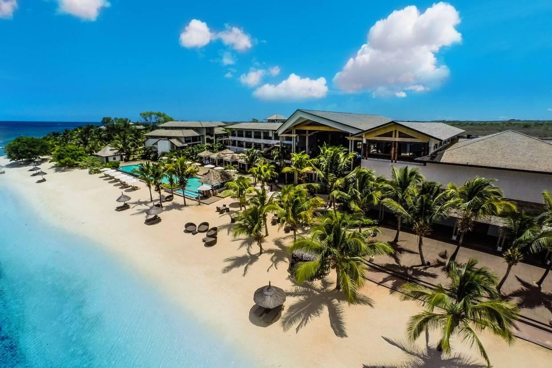 Vue panoramique - Intercontinental Resort Mauritius Hotel 5* Mahebourg Ile Maurice