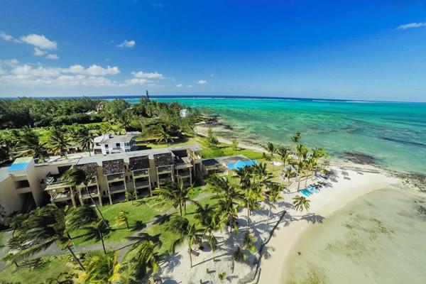 Vue panoramique - Hôtel Jalsa Beach Hotel & Spa 4* Mahebourg Ile Maurice