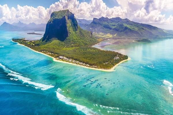 Vue panoramique - Hôtel JW Mariott Mauritius Resort 5* Mahebourg Ile Maurice
