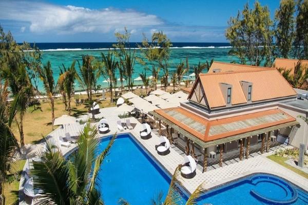 Vue panoramique - Hôtel Kappa Club Maritim Crystals Beach 4* Mahebourg Ile Maurice
