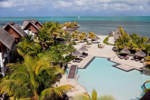 Vue panoramique - Hôtel Laguna Beach Resort & Spa 3* sup Mahebourg Ile Maurice