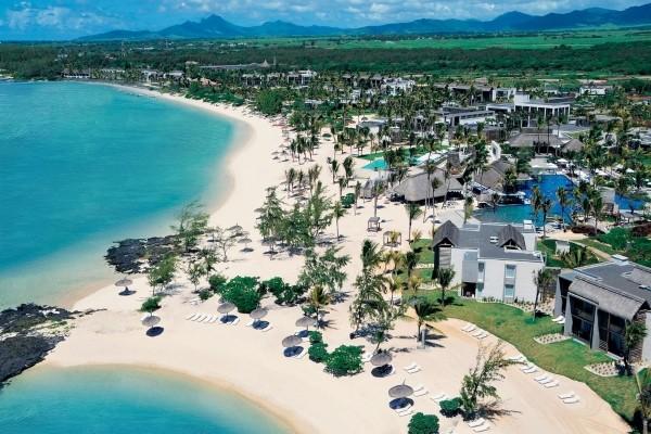 Vue panoramique - Hôtel Long Beach Golf & Spa Resort 5* Mahebourg Ile Maurice