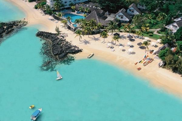 Vue panoramique - Hôtel Merville Beach Grand Baie 3* sup